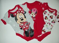 3  Variety Pack Disneys Minnie Mouse Body Suits