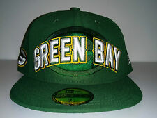 NFL Draft Greenbay Packers 59Fifty NFL Fitted Hat - 7 1/4, 7 1/2 - NEW