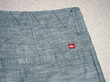 NEW QUIKSILVER SHORTS CHINO LIGHT WEIGHT COOL 1236 MEN'S *PICK SZ FREE SHIP*
