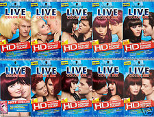 New Schwarzkopf Live Hair Color XXL Permanent Professional Quality Colour Dye UK