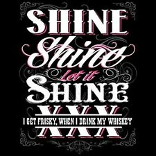 Let it Shine T Shirt You Choose Style, Size, Color Up To 4XL  Moonshine 10391