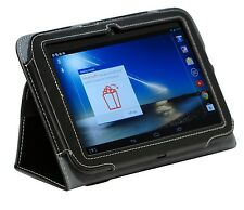 """Premium Multi-angle Fitted Stand Case for the Tesco Hudl 7"""" with handstrap"""