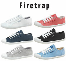 Firetrap Canvas Mens Pumps, Firetrap Canvas Shoes, Plimsoles, Trainers - GENUINE