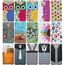 for Samsung Galaxy Note 3 III Design Art Hard Case Cover Accessory Snap-On Skin