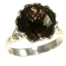 Gorgeous Smokey Topaz Rings 925 Sterling Silver Jewelry Gift Item Bali Sz 6, 7,8