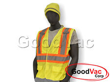 Majestic 75-3209/75-3211 High Visibility Mesh Vest ANSI ISEA 107-2010 Class 2