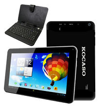 "KOCASO Tablet Dual Camera Android 4.2 9"" Dual Core 1.5GHz 8GB Keyboard Bundle"