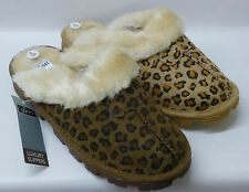 "Jyoti Ladies Leopard Fabric Mule Slippers  ""TO9M017"""