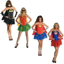 Superhero Costumes for Women Sexy Adult Halloween Female Super Hero Fancy Dress