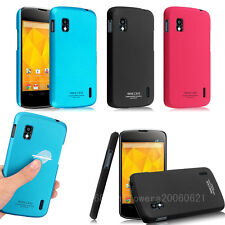 imak Slim Vivid Simple Hard Case Cover For LG Nexus 4 E960 + LCD Guard