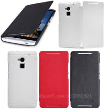Nillkin Flip Victory PU Leather Cover Hard Matte Case For HTC Desire 300 301E