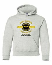 "U.S. ARMY AVIATION*FORT RUCKER, AL *ABOVE THE BEST "" CAMPAIGN HOODIE W/POCKETS"