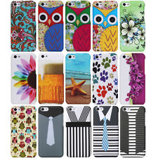 For Apple iPhone 5C Cute Design Hard Rubberized Slim Cell Phone Case Cover Skin