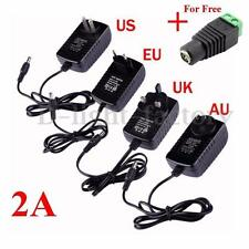 AC 110-240V Power Supply Adapter Transformer Converter DC 12V 2A For Led Strip