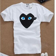 2014 COMME DES GARCONS CDG PLAY women and men causal short sleeve t shirt  S-XL