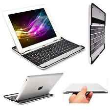 Ultrathin Aluminum Wireless Bluetooth Keyboard Stand Case Dock for iPad 2 3rd 4