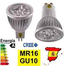 BOMBILLA LED GU10 MR16 220V 12V 9W FOCOS LEDS BLANCO CALIDO FRIO REGULABLE