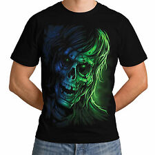 Grim Ghost Reaper Pirate Crow New Mens Women T-Shirt Black Ship Skull Top *h222