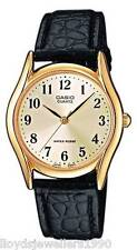 Casio Analogue Watch MTP-1154E-1AEF / 7AER / 7B2EF Genuine Leather Strap RRP £25