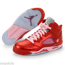 New Girls AIR Jordan 5 Retro GS - 440892 605 - Valentine Day 5s Pink