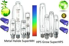 200 250 310 400 430 600 1000 W watt Super MH HPS Grow Ultimate Bulb for use with