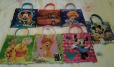 Disney Tote Gift Party Bags - Cars, Winnie the pooh, Tinkerbell, Princess