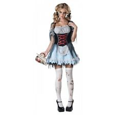 Zombie Costume Adult German Beer Girl Oktoberfest Halloween Fancy Dress