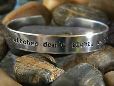 American Horror Story Inspired Bracelet - When witches don't fight we burn