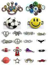 New Rubbzy Rhinestone Rubber Band Loom Bracelet Charms- Many Styles Available!