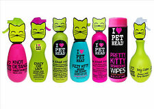 PET HEAD CAT SHAMPOO,CONDITIONER & WIPES ALL TYPES AVAILABLE