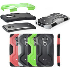 For LG G Flex Hybrid Rugged Curved Shell Hard Dual Layer Phone Cover Case Armor