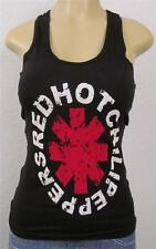 Red Hot Chili Peppers Lace Tank Top T-shirt RHCP Womens JUNIORS Tops S-XL Black