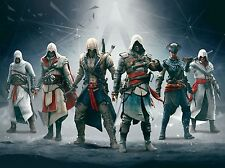 Assassins Creed 4 IV Black Flag POSTER PRINT A4 / A3 PS3 XBOX- BUY 2 GET 1 FREE!