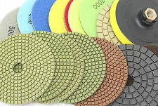5 INCH Diamond Polishing pads Wet or Dry Granite Tile Marble Concrete Stone
