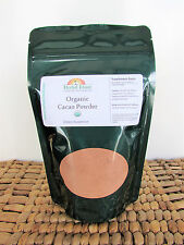 Cacao Bean Powder 8 oz (100% Pure Organic Certified Cocoa) with Free Shipping