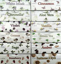 STAMFORD  INCENSE STICKS ( 6 TUBES X 20 STICKS ) - VARIOUS ONES TO CHOOSE FROM