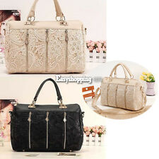 Elegent Lady Oblique Carry Casual Big Bag Retro Lace Sexy Lady's Handbag ES9P