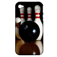 Bowling Ball Strike -Silicone & Hard Case for iPhone 4/4S (UU4171)
