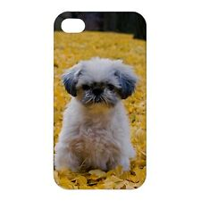 Shih Tzu Puppies / Dog Design -Hard Case for Apple iPhone or iPod -AB4897
