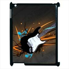 Guitar and Notes / Music Design - Case for Apple iPad 2, 3, 4 or Mini -AB4488