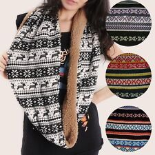 Fashion Design High Quality Striped Infinity Scarf in 5 styles