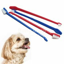 Lower vet bills clean teeth cats & dogs, no bad breath double end - long reach