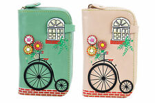 Vendula London, Penny Farthings Medium Ziparound Purse, Classic Style, New