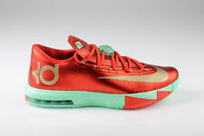 Nike KD VI 6 Christmas mens basketball NEW shoes low kd.6 green crimson red