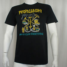 Licensed PROPAGANDHI How To Clean Everything Slim Fit Punk T-Shirt S-2XL NEW