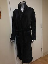 ANNIVERSARY GIFT ~ WOMENS PLUSH ROBE ~ CHARCOAL GREY ~ WE MONOGRAM & GIFT WRAP