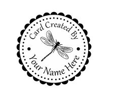 Personalized Custom Handle Mounted Rubber Stamp Returned Address Wedding C86