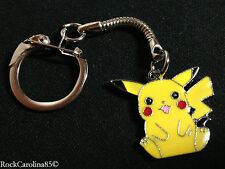 Pikachu SITTING CHARM & KEYCHAIN for Necklace, Earrings, Projects, etc. POKEMON