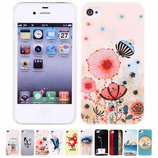 2014 Cheap Sale Fashion Patterns Shinning Case Cover Skin For Apple iPhone 4/4S