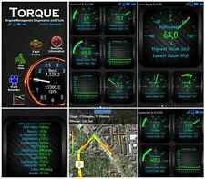 OBD Scanner - Torque Android Bluetooth OBD2 Handy CAN BUS OBDII Adapter wireless